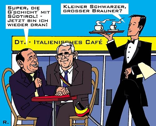 Deutsch-Italienischer Kaffee