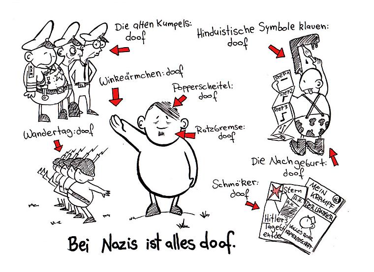 Cgr Adventkalender 2010 Turl 22 Comics Gegen Rechts